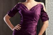 Impresionantes modelos de vestidos con manga corta