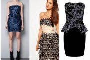 Variedad de estilos de vestidos cortos para fiestas de día