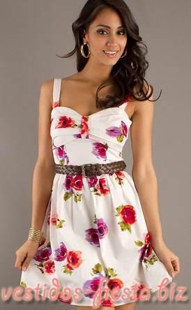 Modelos de vestidos de moda 2013