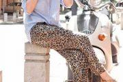 Como combinar los vestidos animal print 2013