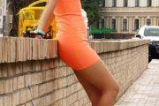 Vestidos de verano en hermosos tonos anaranjados