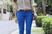 Variedad de pantalones casuales de colores 2013