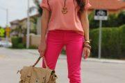 Pantalones fucsia, hermosas combinaciones