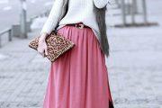 Modelos de faldas largas y cortas, como llevarlas este verano