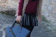 Elegantes looks con faldas: Moda invierno 2013