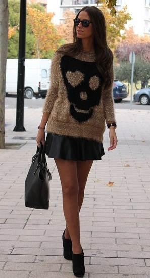 d35787fe2 Elegantes looks con faldas: Moda invierno 2013 | AquiModa.com