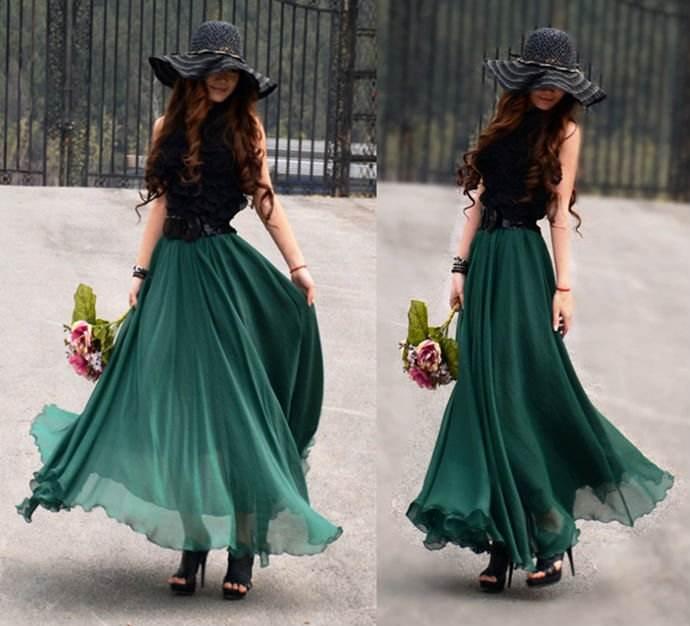 9bed4f24d4 Prendas de vestir exteriores de todos los tiempos  Modelos de faldas ...