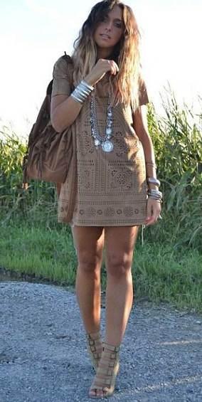 Vestidos cómodos y frescos para el verano