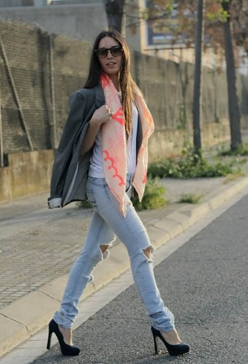 Jeans de moda mujeres 2013