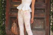 Hermosos modelos de prendas femeninas al estilo peplum 2013