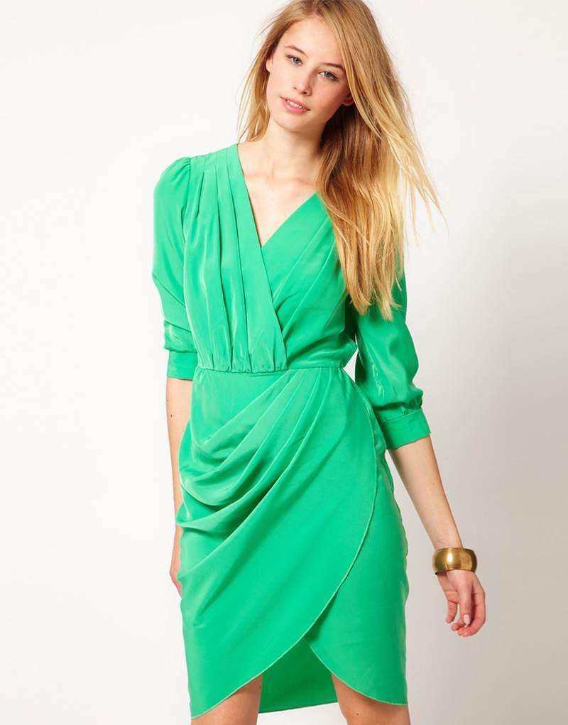 Vestidos Color Verde Jade | Tattoo Design Bild