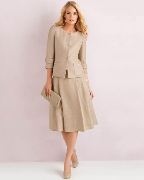 trajes modernos de oficina para gorditas aquimodacom
