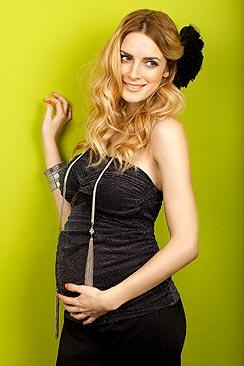 Blusas para embarazadas modernas 2013