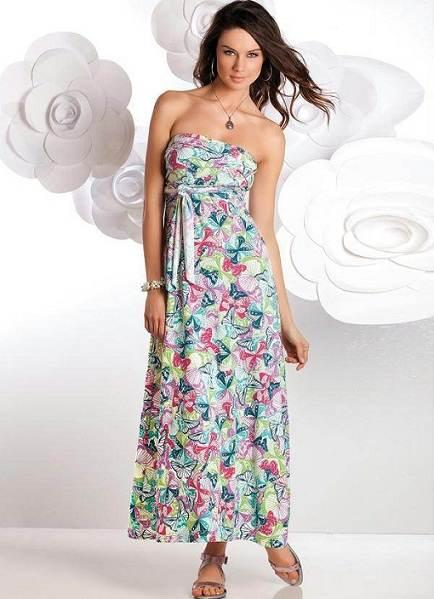 Hermosos vestidos largos para el día a día: Siempre majestuosa