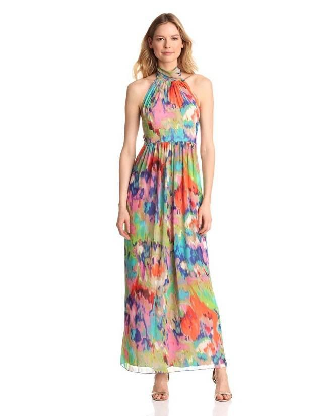 Vestidos Largos Floreados Moda Primaveraverano 2013