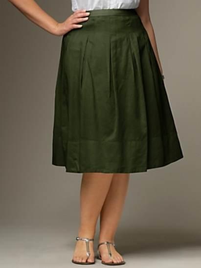 dc0218119 Modelos de faldas debajo la rodilla | AquiModa.com