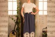 Vestidos largos con estampados: Moda Otoño 2013