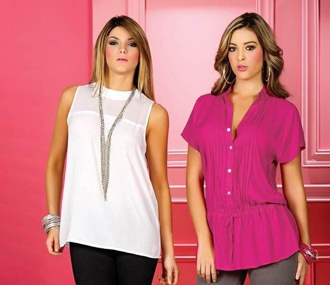 Hermosas blusas elegantes muy femeninas y juveniles