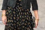Cómo llevar maxi faldas de moda 2013