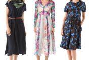Modelos de vestidos sueltos, muy elegantes