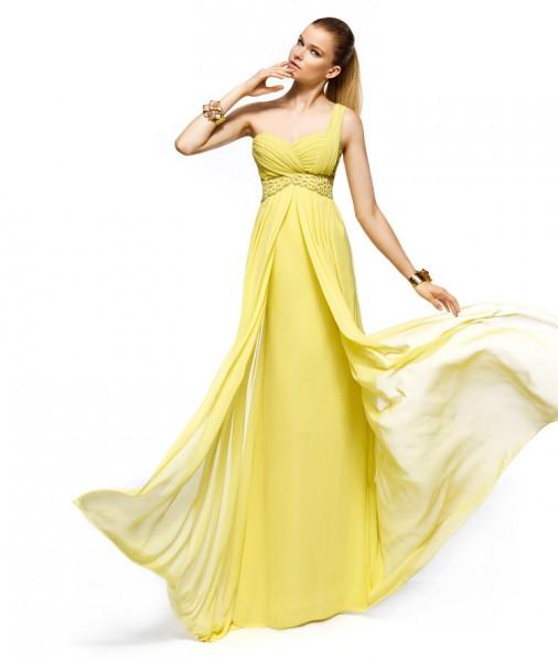 Vestidos amarillos, nuevas opciones