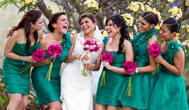 Vestidos para damas de honor y madrinas de bodas