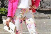 Chaquetas de colores, hermosos modelos 2013