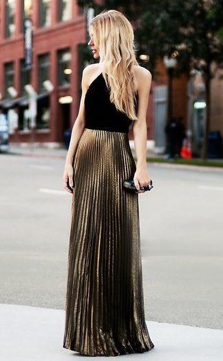 Faldas largas para fiestas de noche