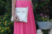 Hermosas faldas largas para fiestas de noche 2013