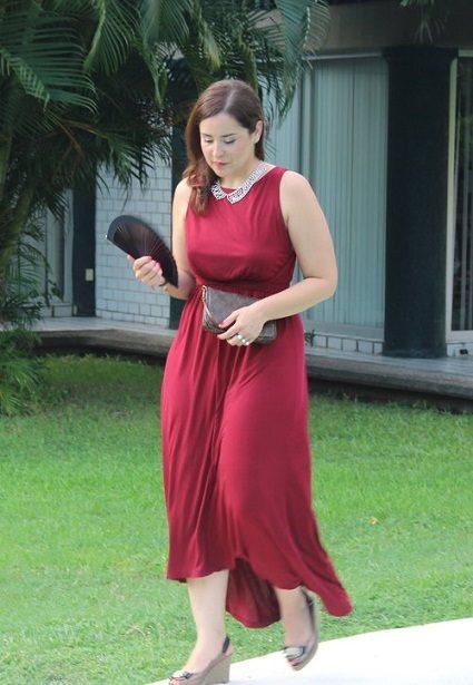 Vestidos rojos de fiesta para gorditas
