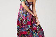 Vestidos largos con hermosos estampados florales