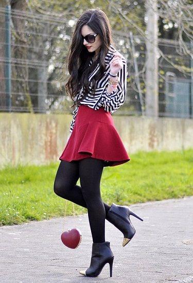 Looks de invierno 2013: Faldas
