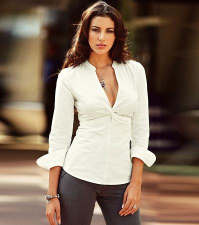 Modelos de blusas sencillas para ir a trabajar