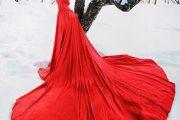 Impactantes vestidos color rojo para fiestas