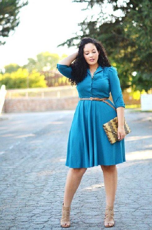 30 Tips Memilih Baju Wanita Gemuk Agar Terlihat Langsing