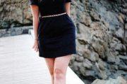 Espectaculares vestidos negros elegantes para salidas