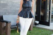 Blusas de moda estilo peplum