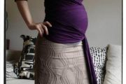 Modelos de faldas para embarazadas