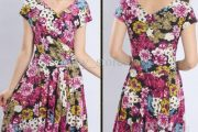 Vestidos casuales con estampados de flores