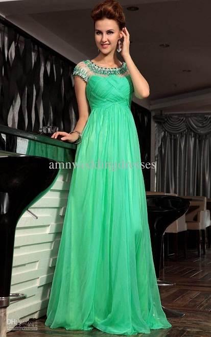Modelos de vestidos largos elegantes de fiesta