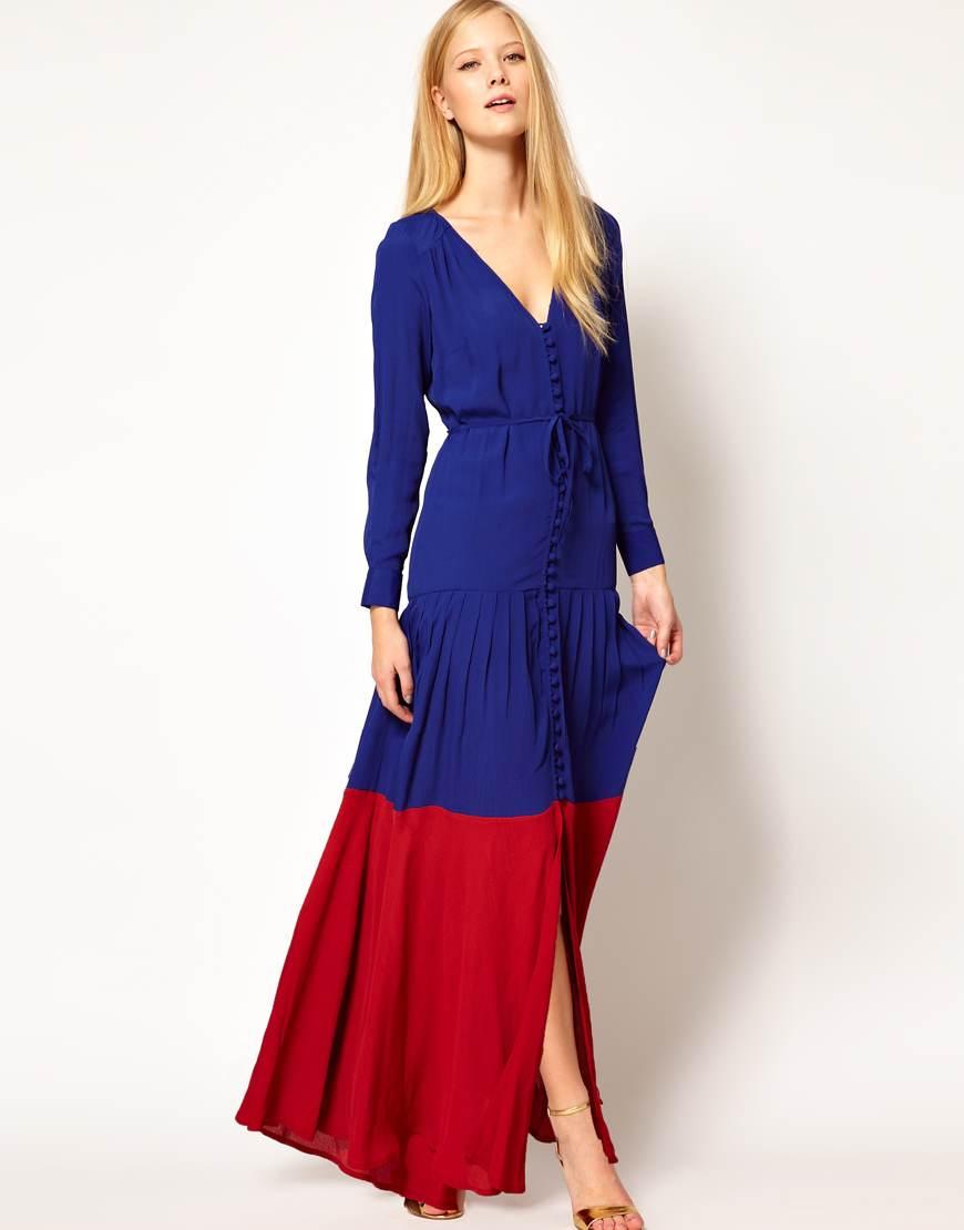 Vestidos modernos largos y sueltos