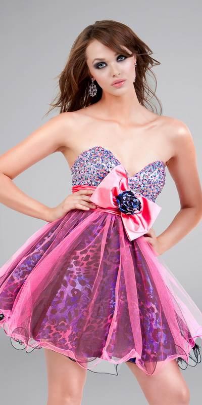 Vestidos cortos de moda para quince años | AquiModa.com