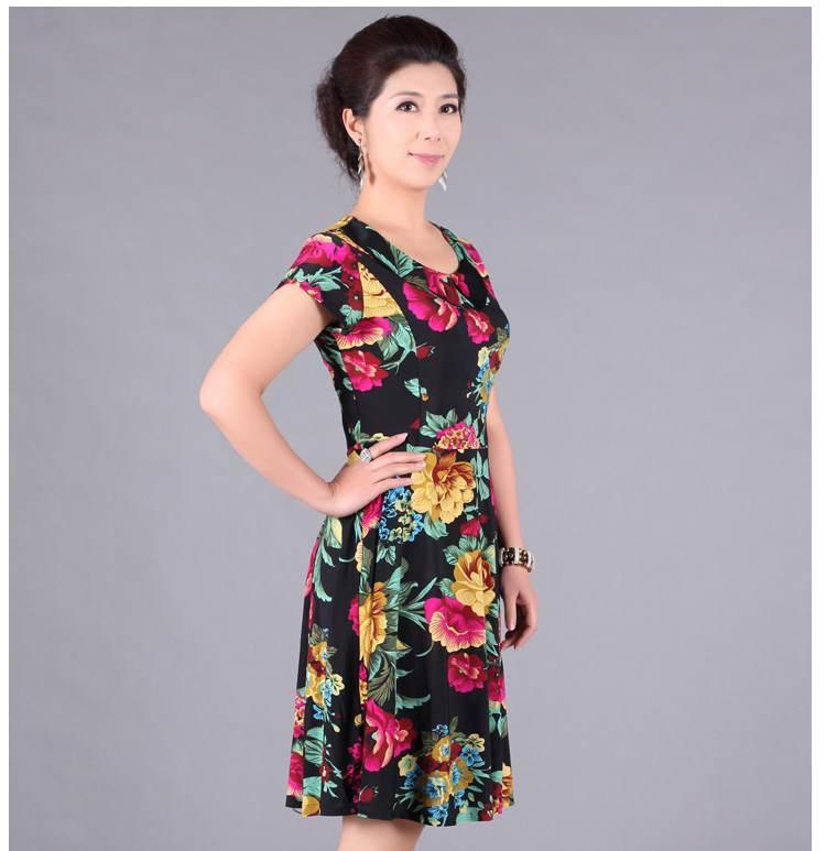 Vestidos modernos y atractivos para señoras