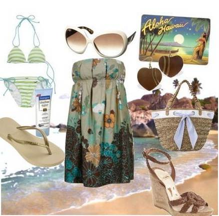 Looks perfectos para la playa