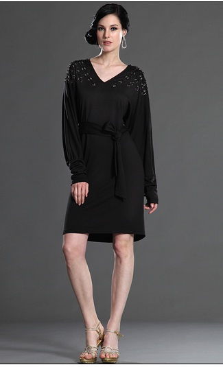 Hermosos vestidos negros para cualquier ocasión