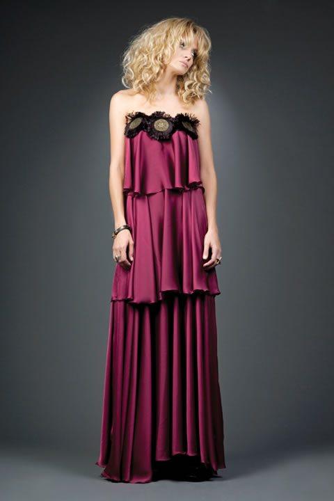 Modelos de vestidos para la noche