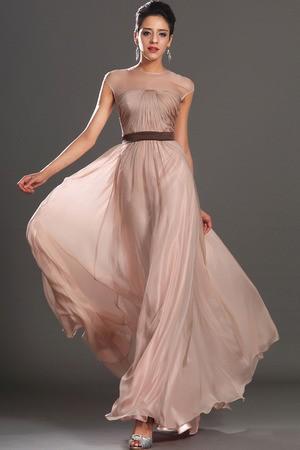 Vestidos de fiesta color nude: Tendencias de moda 2013