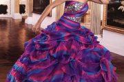 Vestidos coloridos para fiestas de quince años