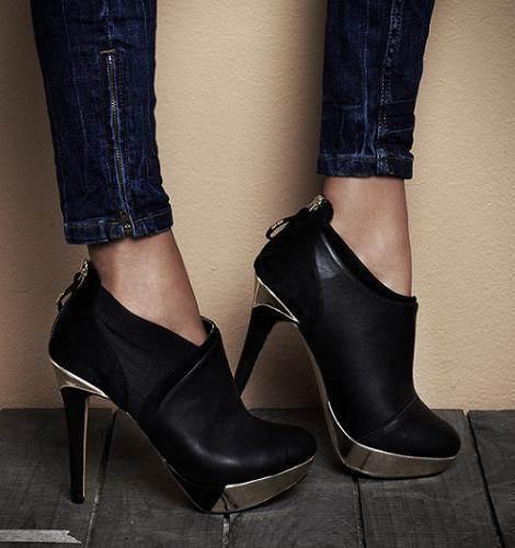 Zapatos elegantes de invierno 2013