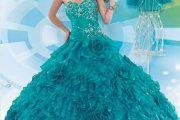 Modelos de vestidos pomposos para fiestas de quince años